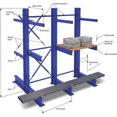 Plan metalowej konstrukcji