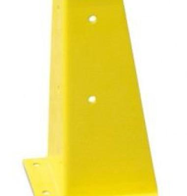 żółta metalowa konstrukcja